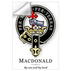 Clan MacDonald Wall Decal
